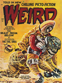 Cover Thumbnail for Weird (Eerie Publications, 1966 series) #v5#3