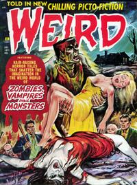 Cover Thumbnail for Weird (Eerie Publications, 1966 series) #v5#6