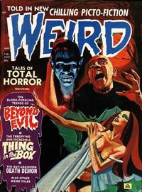 Cover Thumbnail for Weird (Eerie Publications, 1966 series) #v6#1