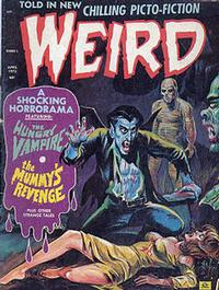 Cover for Weird (Eerie Publications, 1966 series) #v6#3
