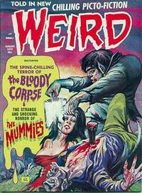 Cover Thumbnail for Weird (Eerie Publications, 1966 series) #v6#5