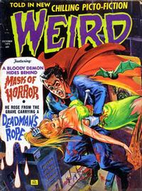 Cover Thumbnail for Weird (Eerie Publications, 1966 series) #v6#6