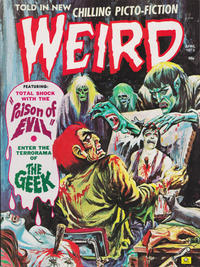Cover Thumbnail for Weird (Eerie Publications, 1966 series) #v7#3