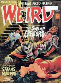 Cover Thumbnail for Weird (Eerie Publications, 1966 series) #v7#7