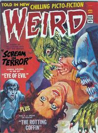 Cover Thumbnail for Weird (Eerie Publications, 1966 series) #v8#2
