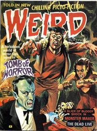 Cover Thumbnail for Weird (Eerie Publications, 1966 series) #v8#4