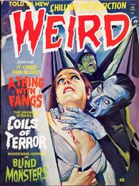 Cover Thumbnail for Weird (Eerie Publications, 1966 series) #v9#1