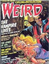 Cover Thumbnail for Weird (Eerie Publications, 1966 series) #v9#4
