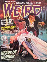 Cover Thumbnail for Weird (Eerie Publications, 1966 series) #v10#1