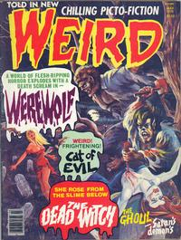 Cover Thumbnail for Weird (Eerie Publications, 1966 series) #v11#1