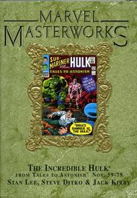 Cover Thumbnail for Marvel Masterworks: The Incredible Hulk (Marvel, 2003 series) #2 (39) [Limited Variant Edition]