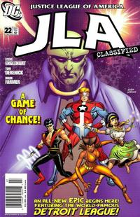 Cover Thumbnail for JLA: Classified (DC, 2005 series) #22 [Direct Sales]
