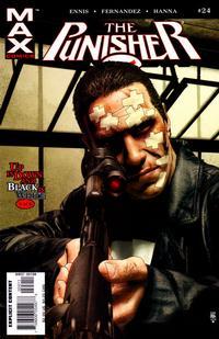 Cover Thumbnail for Punisher (Marvel, 2004 series) #24