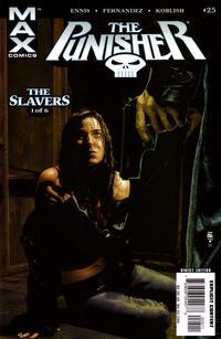 Cover Thumbnail for Punisher (Marvel, 2004 series) #25