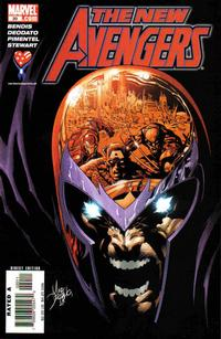 Cover Thumbnail for New Avengers (Marvel, 2005 series) #20 [Direct Edition]