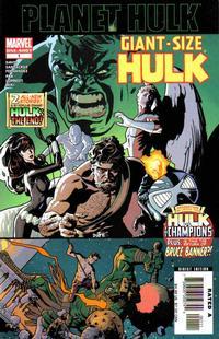 Cover Thumbnail for Giant-Size Hulk (Marvel, 2006 series) #1