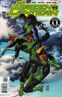 Cover Thumbnail for Green Lantern (DC, 2005 series) #11 [Direct Sales]