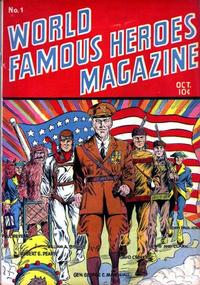 Cover Thumbnail for World Famous Heroes Magazine (Centaur, 1941 series) #1