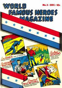 Cover Thumbnail for World Famous Heroes Magazine (Centaur, 1941 series) #2