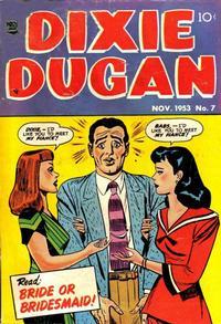 Cover Thumbnail for Dixie Dugan (Prize, 1951 series) #v4#3 (7)