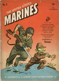 Cover Thumbnail for The United States Marines (Magazine Enterprises, 1943 series) #2
