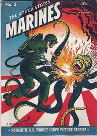 Cover Thumbnail for The United States Marines (Magazine Enterprises, 1943 series) #3