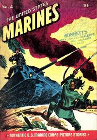 Cover Thumbnail for The United States Marines (Magazine Enterprises, 1943 series) #4