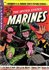 Cover Thumbnail for The United States Marines (Magazine Enterprises, 1952 series) #5 [A-1 #55]