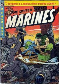 Cover Thumbnail for The United States Marines (Magazine Enterprises, 1952 series) #8 [A-1 #72]
