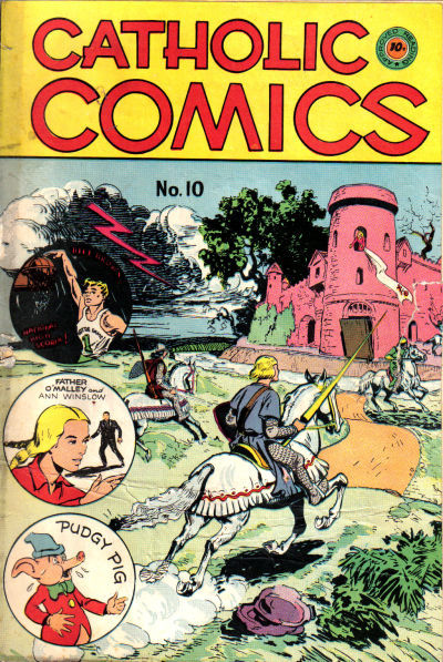 Cover for Catholic Comics (Charlton, 1946 series) #v1#10