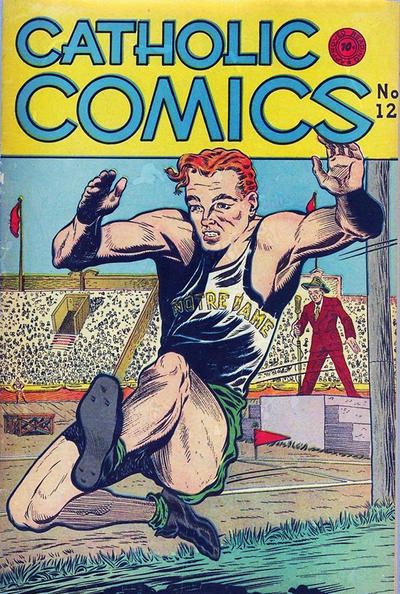 Cover for Catholic Comics (Charlton, 1946 series) #v1#12