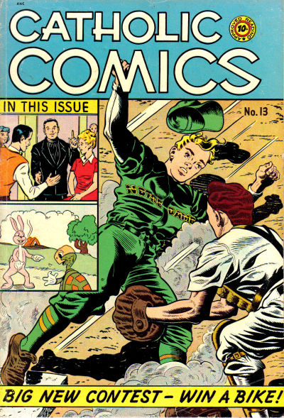 Cover for Catholic Comics (Charlton, 1946 series) #v1#13