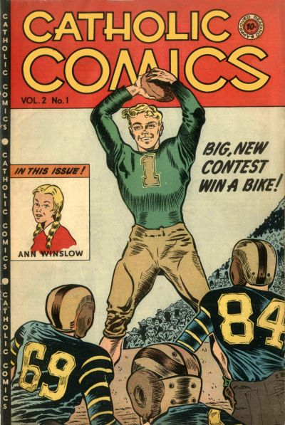 Cover for Catholic Comics (Charlton, 1946 series) #v2#1