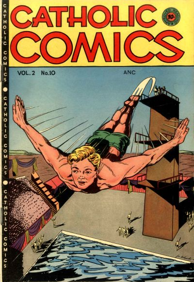 Cover for Catholic Comics (Charlton, 1946 series) #v2#10
