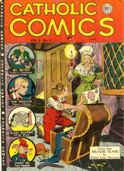 Cover for Catholic Comics (Charlton, 1946 series) #v3#2