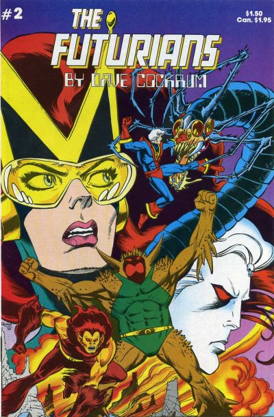 Cover for Futurians by Dave Cockrum (Lodestone, 1985 series) #2