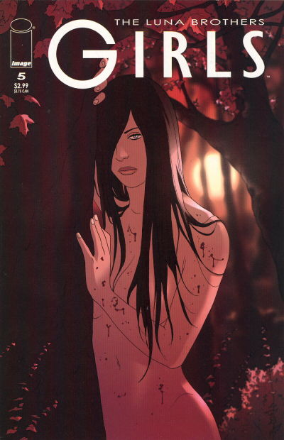 Cover for Girls (Image, 2005 series) #5