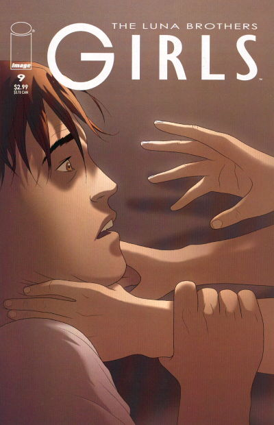 Cover for Girls (Image, 2005 series) #9