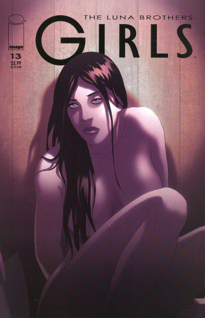 Cover for Girls (Image, 2005 series) #13