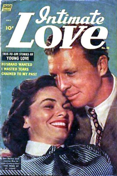 Cover for Intimate Love (Pines, 1950 series) #20