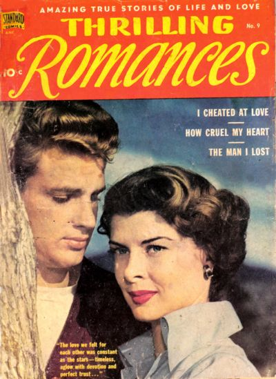 Cover for Thrilling Romances (Pines, 1949 series) #9