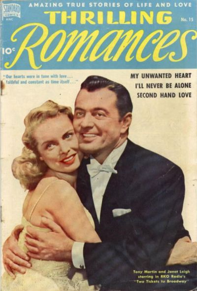Cover for Thrilling Romances (Pines, 1949 series) #15