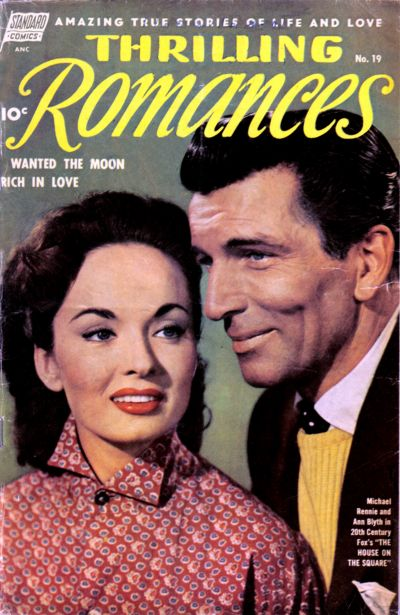 Cover for Thrilling Romances (Pines, 1949 series) #19