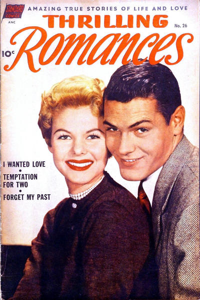 Cover for Thrilling Romances (Pines, 1949 series) #26