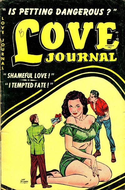 Cover for Love Journal (Orbit-Wanted, 1951 series) #16