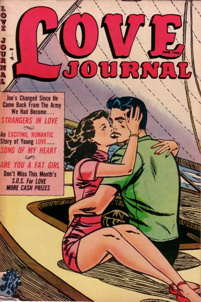 Cover for Love Journal (Orbit-Wanted, 1951 series) #19