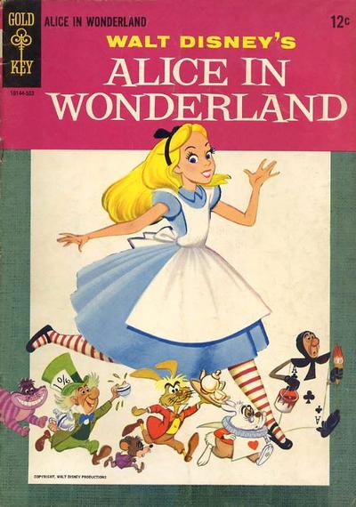 Cover for Alice in Wonderland (Western, 1965 series)