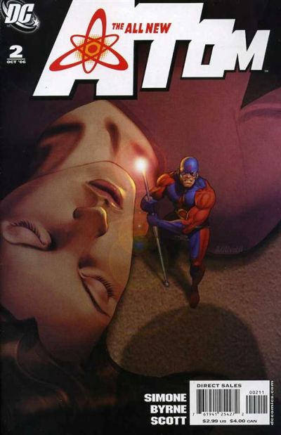 Cover for The All New Atom (DC, 2006 series) #2