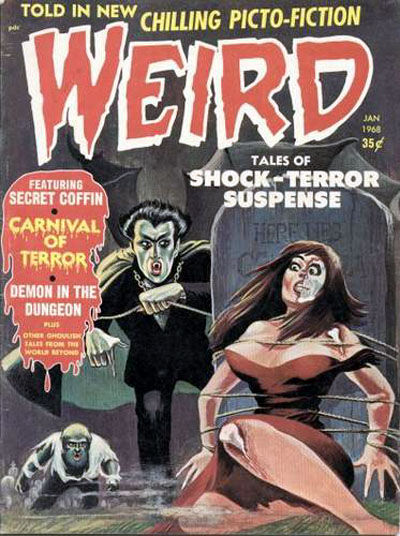 Cover for Weird (Eerie Publications, 1966 series) #v3#1 [v2#5]