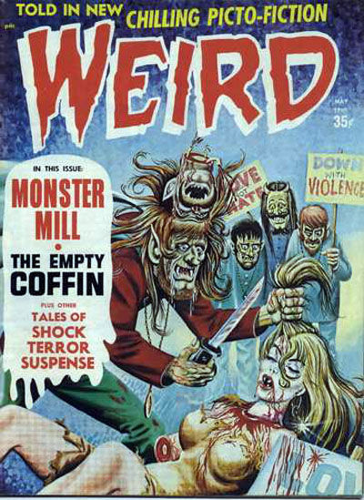 Cover for Weird (Eerie Publications, 1966 series) #v3#2